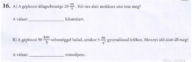 Kombinalt teszt F4.